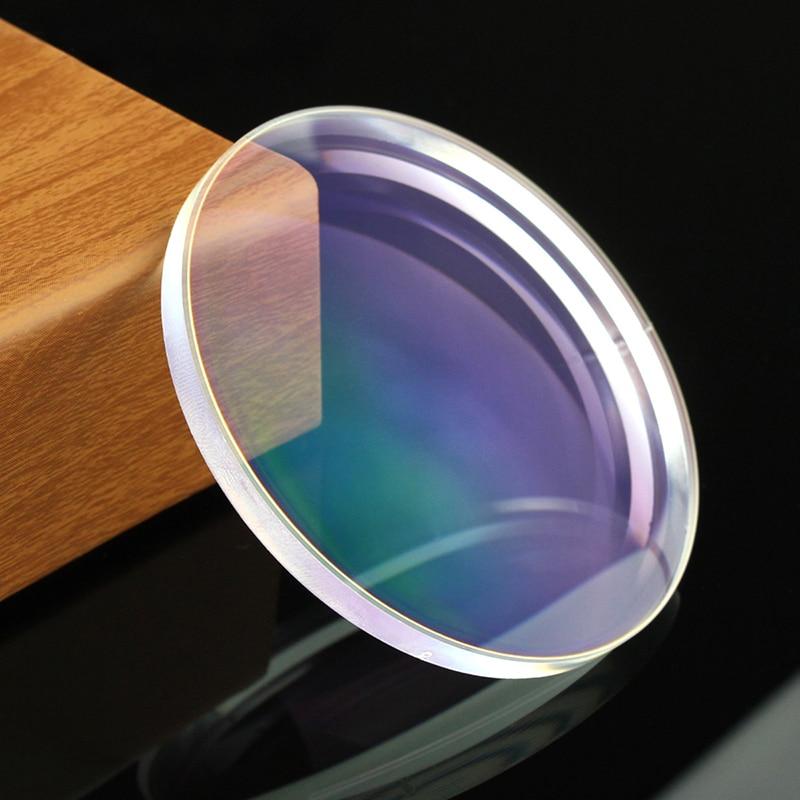 1.61 Index Prescription Lenses Resin Aspheric Glasses Lenses for Myopia Hyperopia Presbyopia Eyeglasses Lens with Green Coating