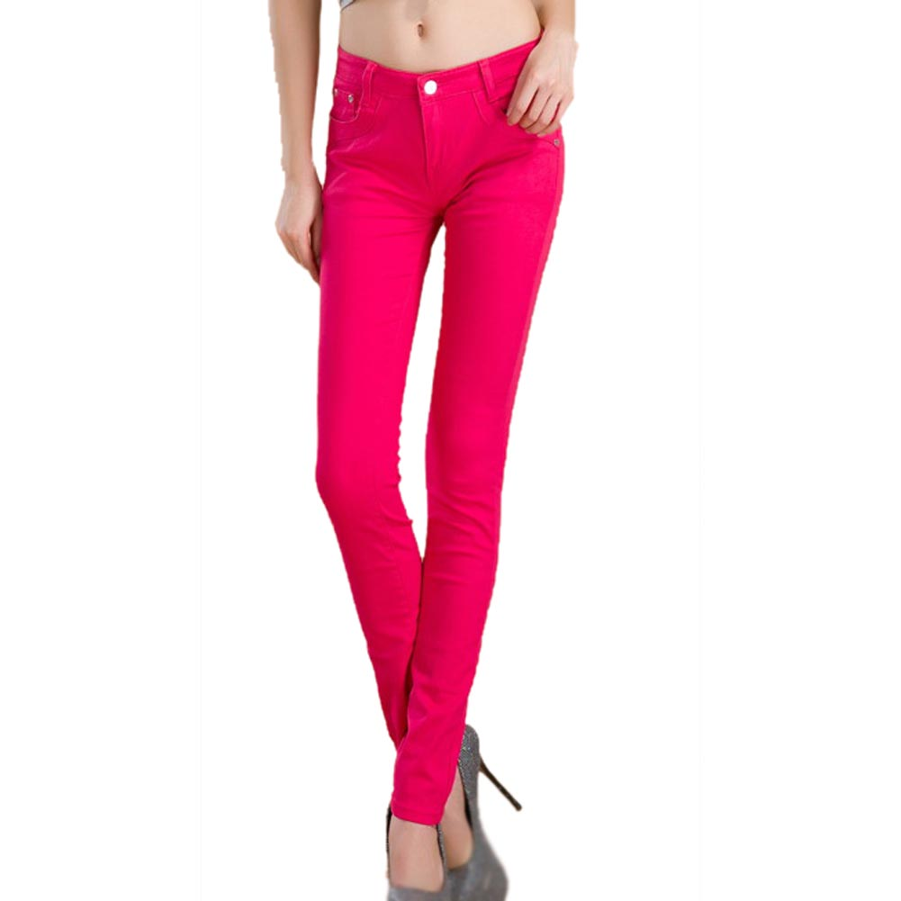Popular Red Jean Leggings Denim-Buy Cheap Red Jean Leggings Denim ...