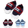 Cómodos Zapatos Suaves del Niño Del Bebé de la muchacha del Muchacho Correas Del Dedo Del Pie Redondo Pisos Zapatillas Suaves Zapatos Infantiles de Prewalker FCI #