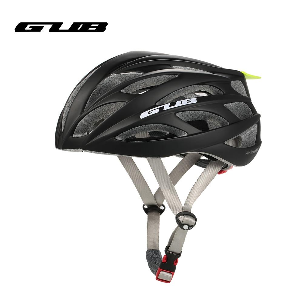купить GUB high end quality PRO Cycling Helmet Ultralight MTB Mountain Bike bicycle Helmet Visor EPS PC 26 Air Vents Skating Helmet по цене 4234.88 рублей
