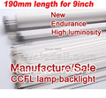 10pcs/lot  190x2.0mm 9inch LCD ccfl lamp ,ccfl tube for 9inch lcd screen panel