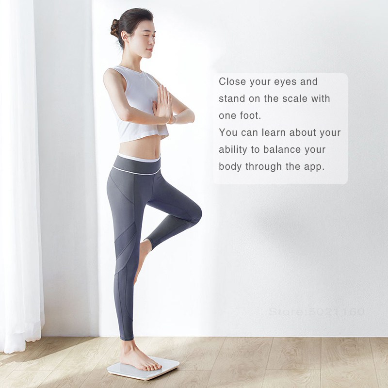 XIAOMI MIJIA Mi Smart Weight Scale for Fitness Check with LED screen and APP 2