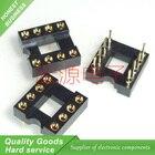 10pcs/lot DIP-8 Round IC SOCKET 8 PIN 8PIN 8P Round Hole DIP IC Sockets Adaptor Solder Type New Original Free Shipping