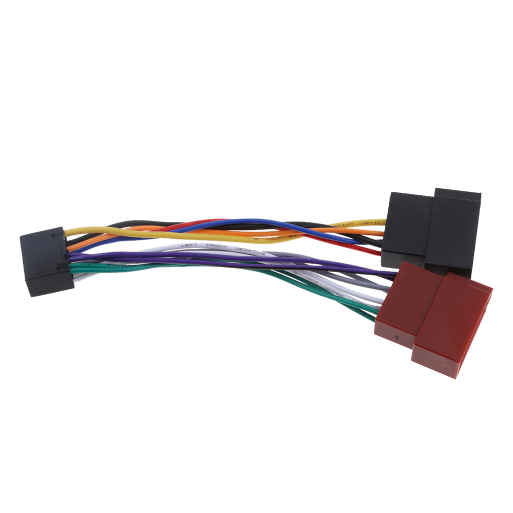 Car Audios ISO Standard Harness Auto Audios Installation Cables for Kenwood / JVC Car Radio Sound