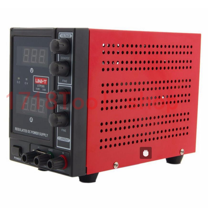 UNI-TUTP305 Mini Switching Regulated Adjustable DC Power Supply SMPS Single Channel 30V5A  mobile phone repair(110V US 220V EU cps 6011 60v 11a digital adjustable dc power supply laboratory power supply cps6011