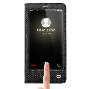 Image 3 - QIALINO étui pour Huawei Ascend Mate 9 luxe en cuir véritable couverture à rabat pour Huawei Mate9 sommeil fonction réveil étui intelligent pour mt9