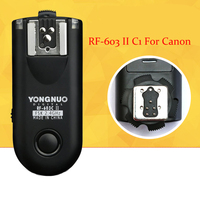 Yongnuo RF 603 II C1 RF603II C1 Wireless Flash Trigger 2 Transceivers For Canon 70D 60D