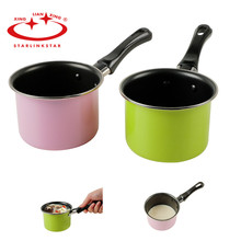 1PC Carbon Steel Heating Pot Nonstick Mini Chocolate Milk Sauces Saucepan Cooking Cuisine Pan Kitchenware Cooking Pots Tool