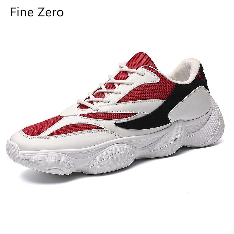 Noir Couleur Automne Lace Hommes rouge Respirant Mode Tenis De Appartements Mesh Chaussures Masculino Up 2018 blanc Mélange Casual Adulto Sneakers wTpqqg