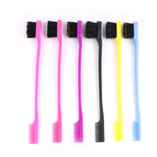 3pcs Beauty Double Sided Edge Control Hair Comb Hair Styling Hair brush