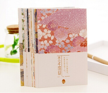 Hot selling 30pcs/set new arrival fashion cute Japan style retro Pattern Time series post card set.retail great deal