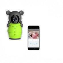 Smart Home Wireless Wifi Baby Monitor Audio Security IP Camera 2Way Talk Night Vision Intercom HD Lovely Cartoon Bear Kids Care