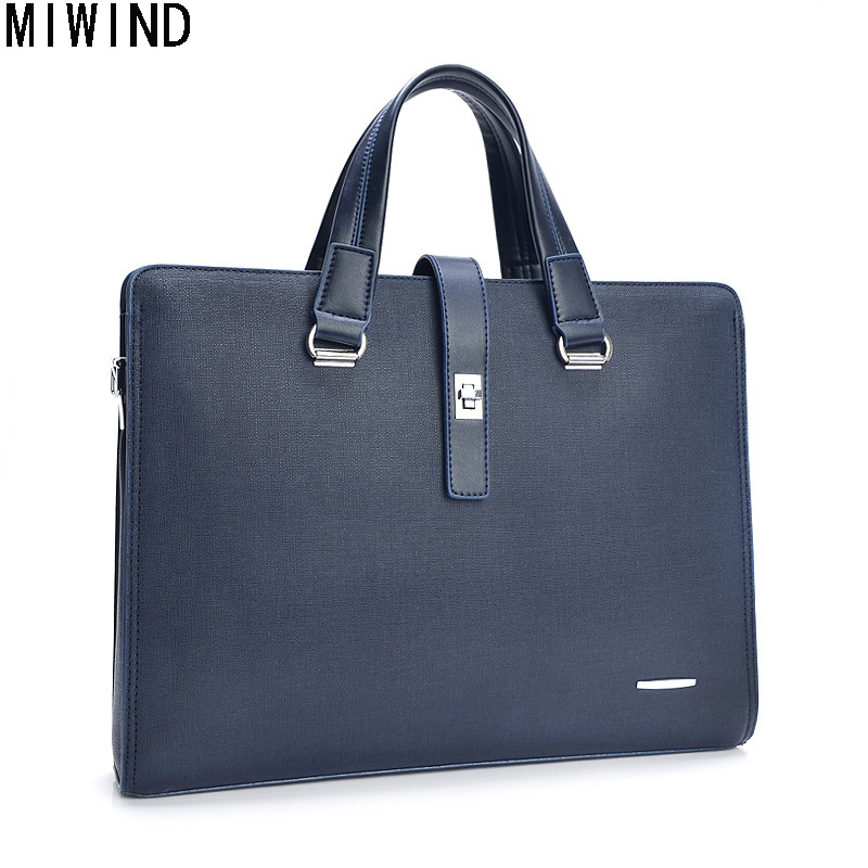 MIWIND Men Leather Briefcase Bags Business Laptop Tote Bag Luxury Brand Man Office Bag Male Messenger Shoulder Bags TYZ1337MIWIND Men Leather Briefcase Bags Business Laptop Tote Bag Luxury Brand Man Office Bag Male Messenger Shoulder Bags TYZ1337