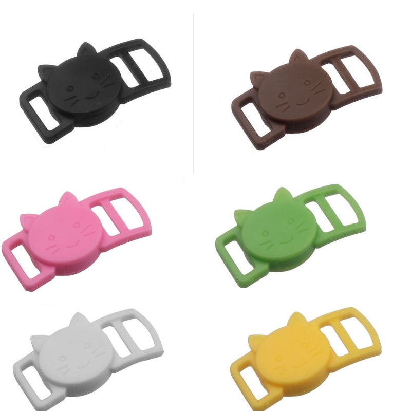 New Hello Kitty 10mm Plastic Buckle Clothing Bag Belt Straps Buckle Fastener Pet Dog Cat Animals Collar Belt  Buckles 100pcs/lot
