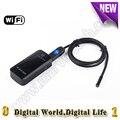 7mm de diâmetro 6led usb wi-fi borescope inspeção endoscópio câmera de 1/2/5/10/20 m cabo para iphone ios android celular tablet pc