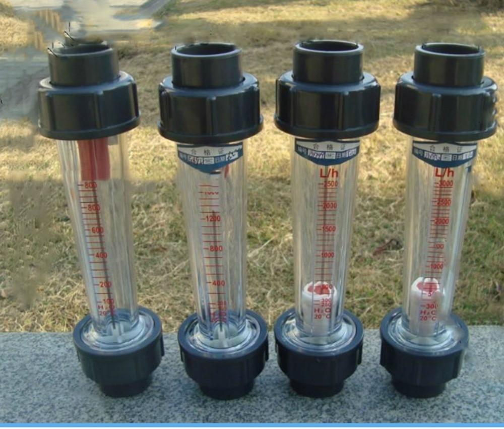 LZS-25 (100-1000 L/H Long tube) High-quality pipe float liquid plastic water Flow meter Measurement Instruments FlowMeters LZS25 lzs 50 1 10m3 h plastic tube type series rotameter flow metertools measurement analysis flow measuring instruments flowmeters