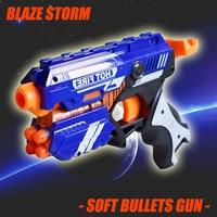 CS Games Soft Bullet Gun Toy Outdoor Fun Sports High Quality Children Gifts Guns Plastic Toy