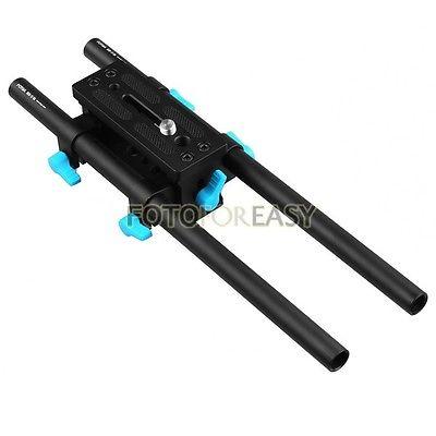 FOTGA DP3000 15 mm Rail Rod placa de base avanzada para HDV DSLR Siga - Cámara y foto - foto 2