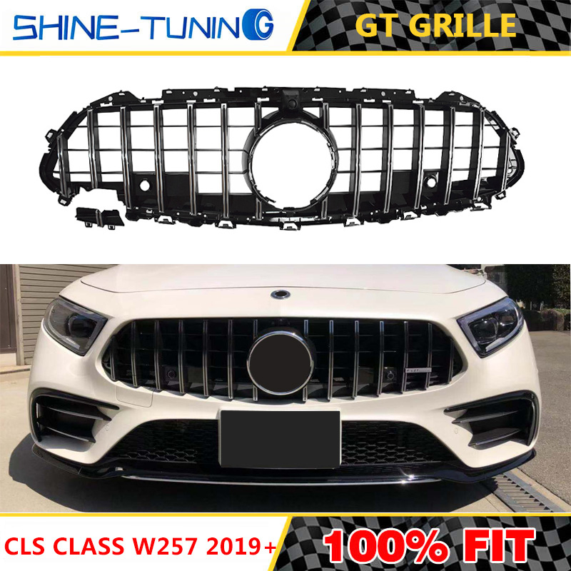 CLS C257 GT Grill AM G Grill For CLS Class W257 Facelift