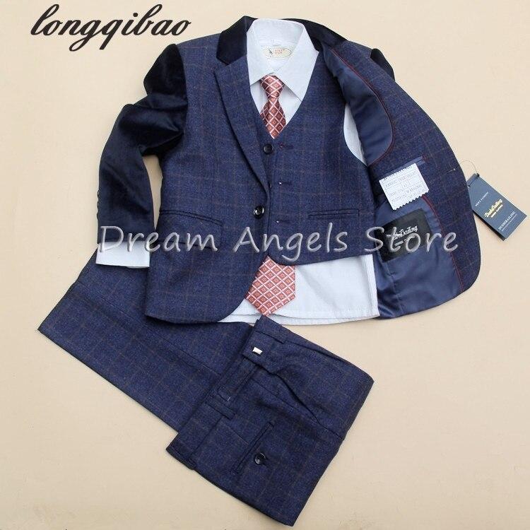 (jacken + Vest + Pants + Tie + Krawatte) Jungen Anzüge Blume Mädchen Slim Fit Tuxedo Marke Mode Bridegroon Kleid Hochzeit Anzüge Blazer 04