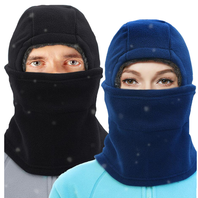 Kongyide Black Neck Warm Thermal Balaclava Hood Outdoor Ski Winter Windproof Mask Hat Neck Warmer Scarf #30 Atv,rv,boat & Other Vehicle
