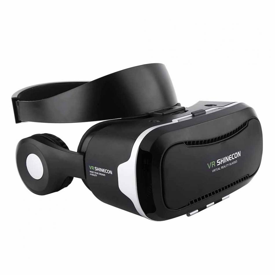 VR Shinecon Virtual Reality Headset 3D VR Glasses Goggles for 3.5