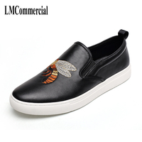 Korean Fashion Leather Shoes Low Male Pedal Slip On Le Fu Toe Layer Of Leather Casual