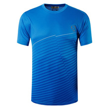 ФОТО sportrendy men's summer active casual short sleeve t-shirts tshirts tees tops quick dry fitness exercise clothing lsl026