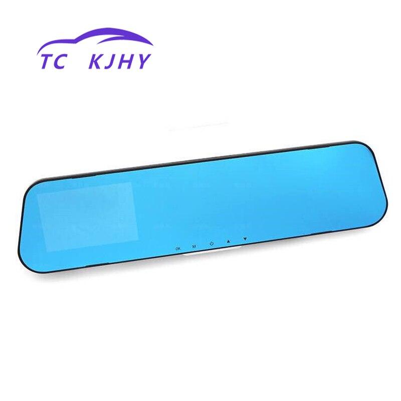 3.8 Inch High Definition Large Screen Dash Cam Car DVR Car Rearview Mirror Driving Recorder Camera Circular Recording Display