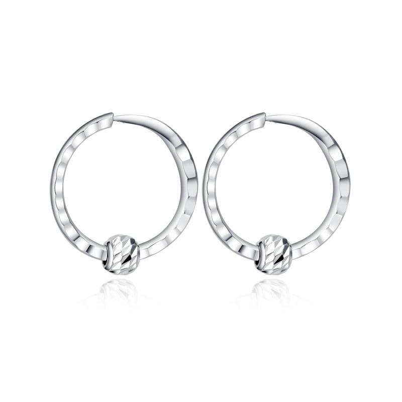 все цены на New 950 Gold Hoop Earrings Round Earrings 1.19g