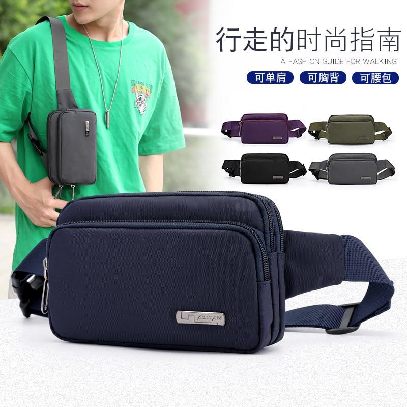 Aotian nuove borse delle donne di modo Casual sacchetto di borse di alta qualità del sacchetto di spalla del messaggero delle donne borse-in Borse a tracolla da Valigie e borse su  Gruppo 1