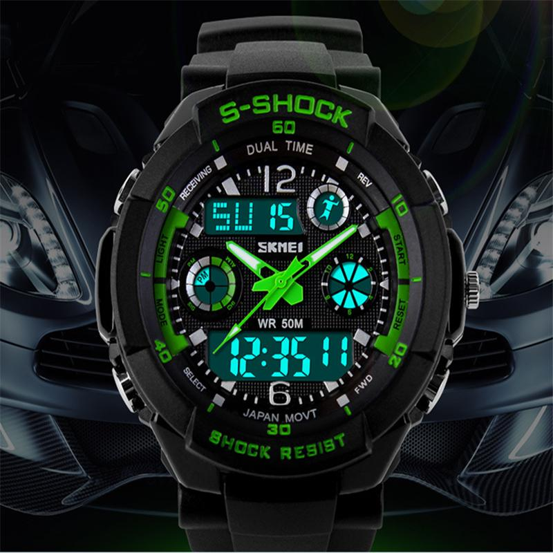 Reloj Hombre Sports Watches Men Led Digit Watch Clocks LED Dive Military Wristwatches Relogio Masculino New 2015 Hot Sell