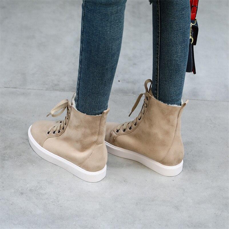 Conasco Chaussures Lacets Talons 2 Moto Bottes Femmes Courte noir Automne Bottines À De Coince Hauts Troupeau Martin Hiver 1 Femme Dames qwg8qrpyI