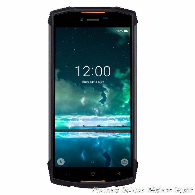 Фото. DOOGEE S55 Android 8,0 IP68 водонепроницаемый смартфон 5500 мАч 5,5 дюйм 4 Гб ОЗУ 64 Гб ПЗУ MTK