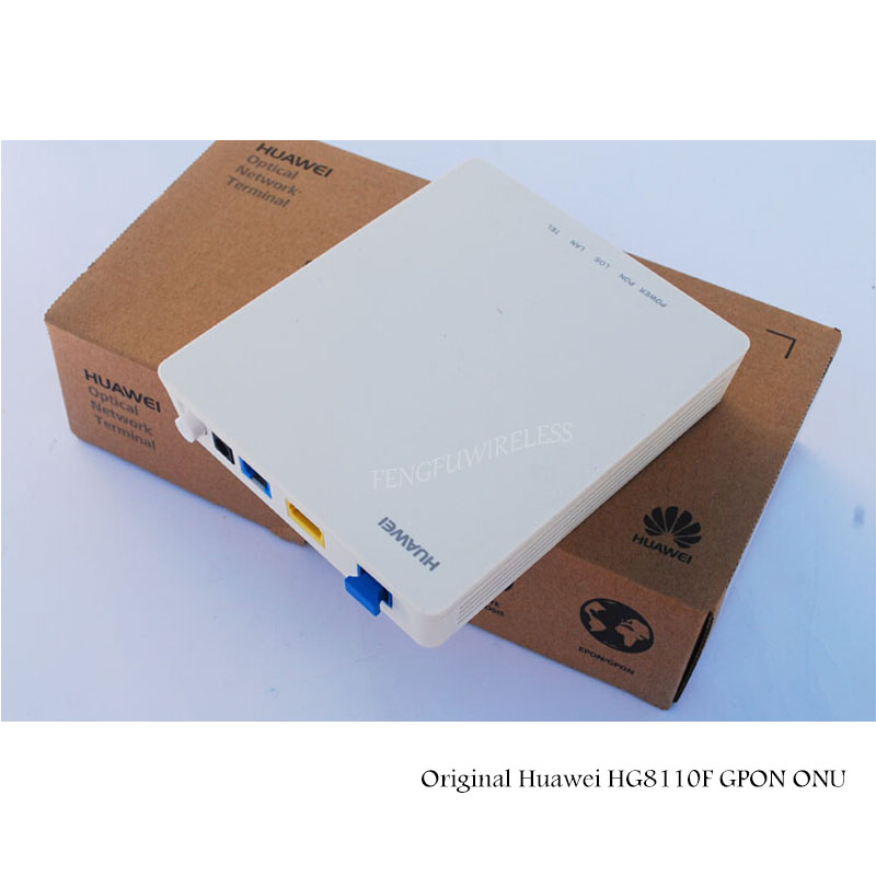 Hottest Best Price 1lan+1pot 1pots+1fe English Firmware Original Hua Wei Hg8010f Optical Ftth Unit Fiber Optic Equipments Cellphones & Telecommunications