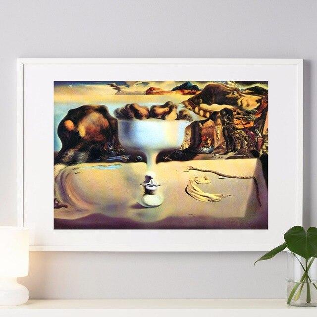 salvador dal surrealismo pintura canvas art print poster pared cuadros para la sala decoracin casa decoracin