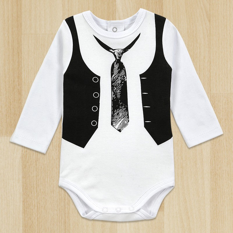 New 2015 Baby Boy Gentleman Romper Infant Jumpsuits Long-Sleeved Rompers Winter Underwear Next Baby Boy Clothes запонки greg запонки