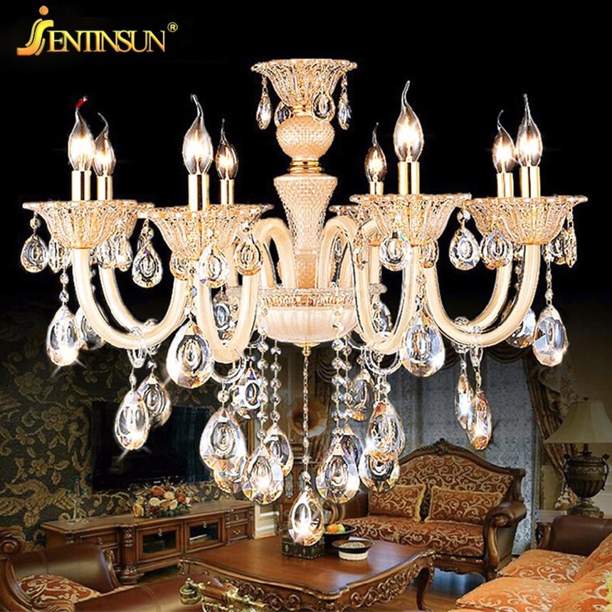 Modern Chandelier Wholesale: 8 Heads Lamp Crystal Lights Factory Wholesale Modern
