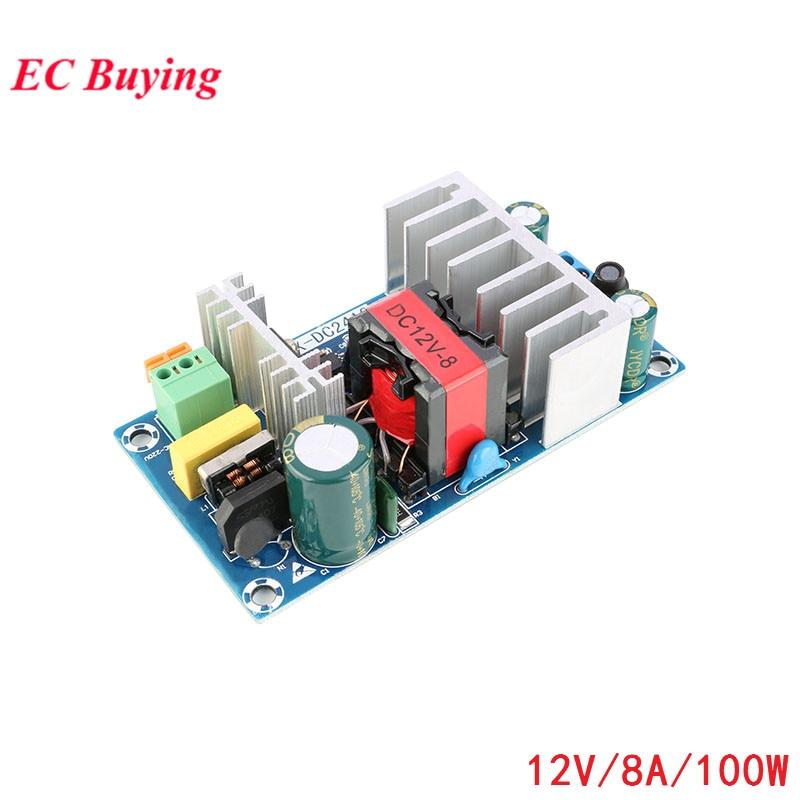 1PCS AC-DC 12V 8A 100w Switch Power Supply Module Bare Board Electronic