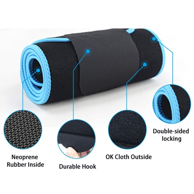 YTFAIFEN Gym Sjoy Waist Trimmer Weight loss Belly Band Sweat More Fat Burning Slim Abdomen Body Shaper  Emagrecimento Wrap Belt 2