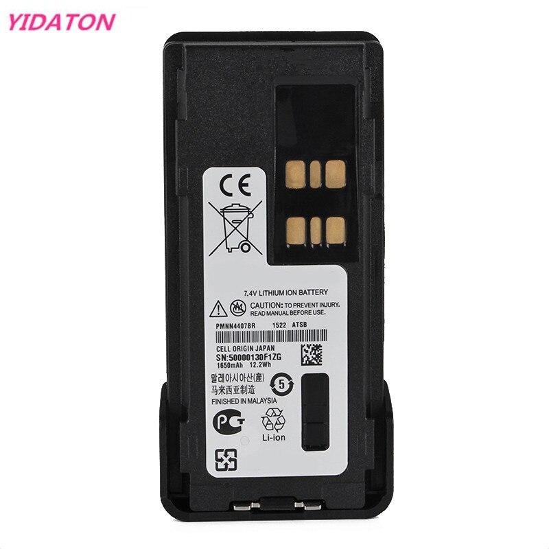 7.4V 1650MAH 12.2Wh Li-ion Battery For Motorola PMNN4409 PMNN4409AR PMNN4412 PMNN4448 PMNN4407 DP4400 DP4401 DP4600 DP4601