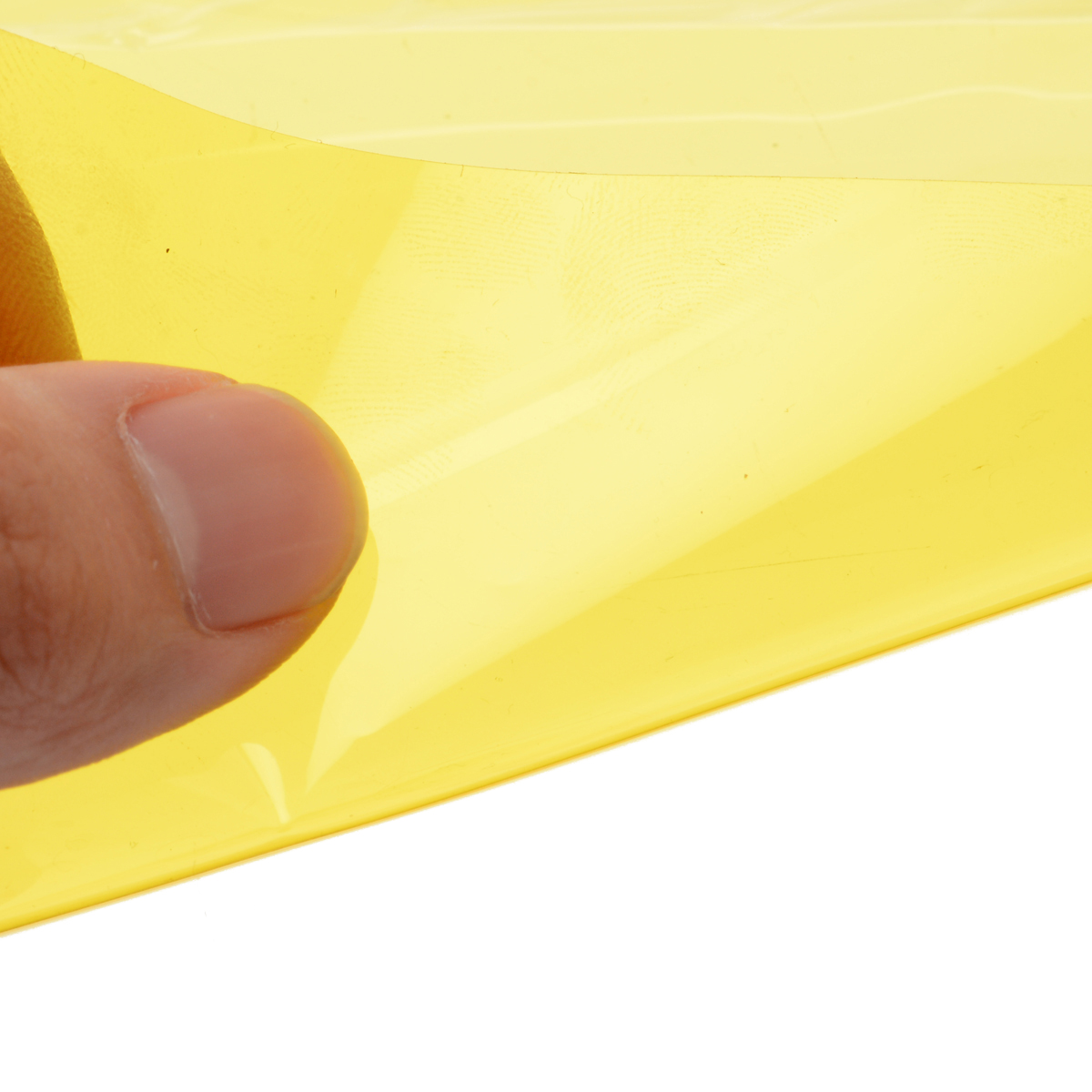 1 Roll 60x30CM Yellow Auto Car Headlight Taillight Tint Vinyl Smoke Film Sheet Sticker Car Styling Decorative Accessories