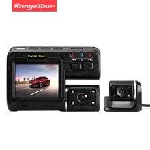 مجموعة جولة سيارة بعدسة مزدوجة كاميرا DVR مسجل i1000s داش كام صندوق أسود كامل HD 1080P 140 درجة مع كاميرا الرؤية الخلفية داشكام