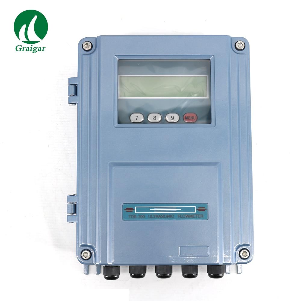 Split Ultrasonic Flow Meter TDS 100F1 M2 Flowmeter DN50 700mm