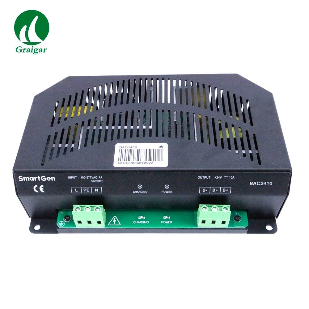 Smartgen BAC2410 chargeur de batterie automatique 24 V Structure d'alimentation de commutateur
