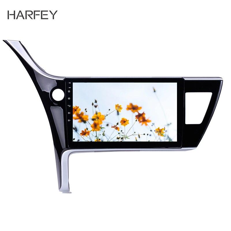 Harfey For Toyota Corolla LHD 2017 Car Multimedia player Wifi Bluetooth GPS Navi 10 1 Android