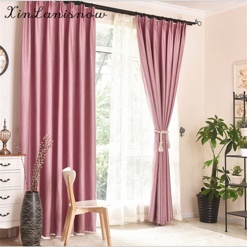 The Curtain Cloth Color Embossed Electric Carving Shade Multi-color Choose Curtains for Bedroom Living Room Kitchen