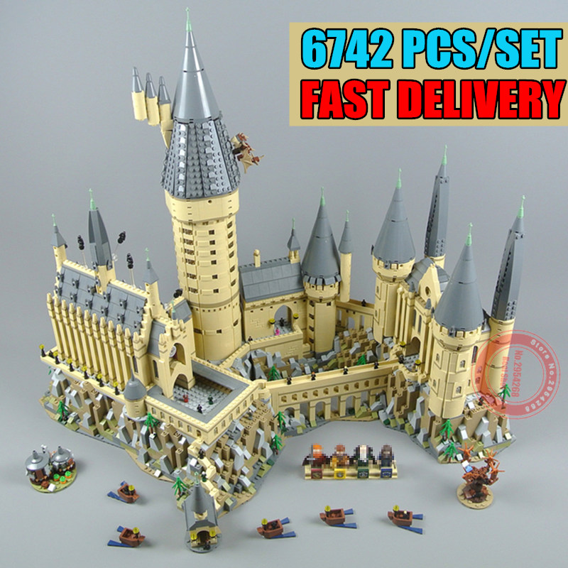 New Harry Magic Hogwarts Castle fit legoings harry potter castle city Building Blocks Bricks Kid 71043 kid DIY Toys giftNew Harry Magic Hogwarts Castle fit legoings harry potter castle city Building Blocks Bricks Kid 71043 kid DIY Toys gift