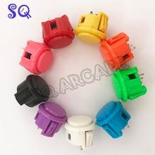 10 x OEM 30 мм кнопки заменить для аркадного копирования Sanwa Кнопка Mame KOF игры части 10 цветов
