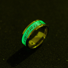 Music 316L Stainless Steel Unisex Ring